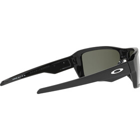 Oakley Double Edge Brille polished black/prizm black polarized